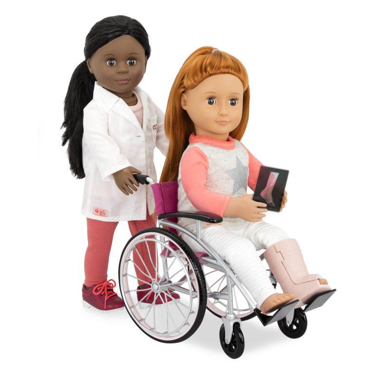 """Kit """"Cadeira de Rodas com Acessórios"""""""